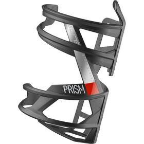 Elite Prism Bottle Holder links Carbon, black matte/red design